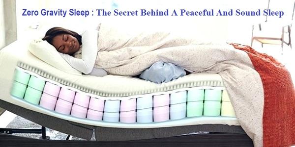 Zero gravity sleep