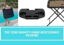 Zero gravity chair accessories